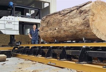 The WM1000 - a big sawmill for big logs