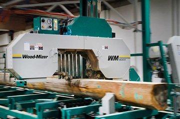 The first WM4000 sawmill installation in Romania