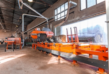 TWO WM4000 SAWMILLS REPLACE FOUR LT40S AND BOOST OUTPUT