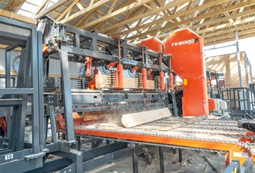 TITAN SAWMILL LINE SIGNIFICANTLY IMPROVES PALLET PRODUCER...
