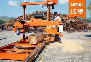 Wood-Mizer Introduces LT15CLASSIC WIDE Sawmill for Bigger Logs and...