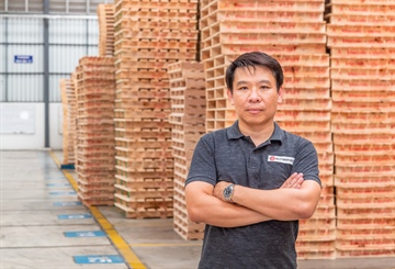 Thai Pallet Company Doubles Productivity with One Wood-Mizer Resaw