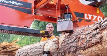 LT70WIDE Mobile Sawmill | WIDER cuts & WIDER blades |...
